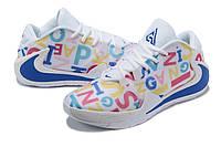 Мужские баскетбольные кроссовки  Nike  Greek Freak 1(White/blue), фото 1