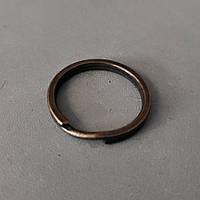 Кольцо плоское для ключей 24 мм антик