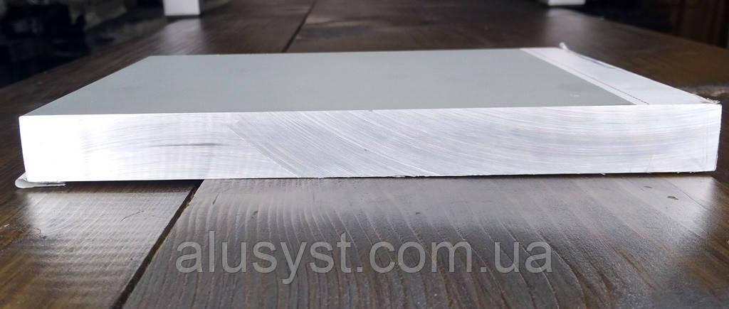 Алюминиевая полоса 200х20 - 1метр  Шина, Анод