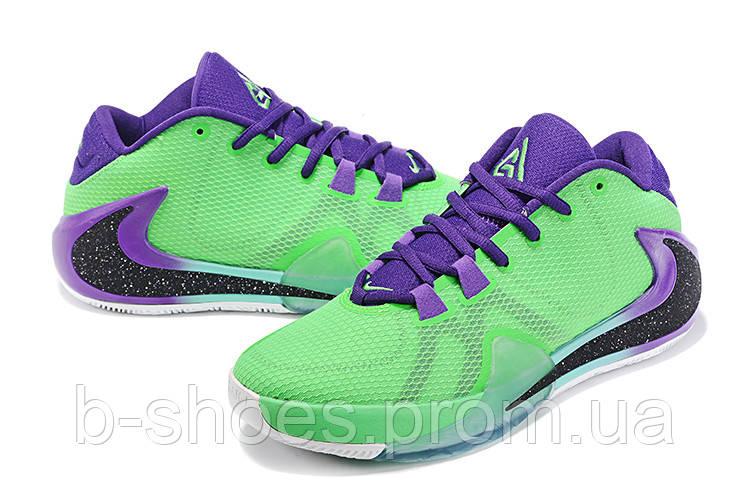 Мужские баскетбольные кроссовки  Nike  Greek Freak 1(Green)