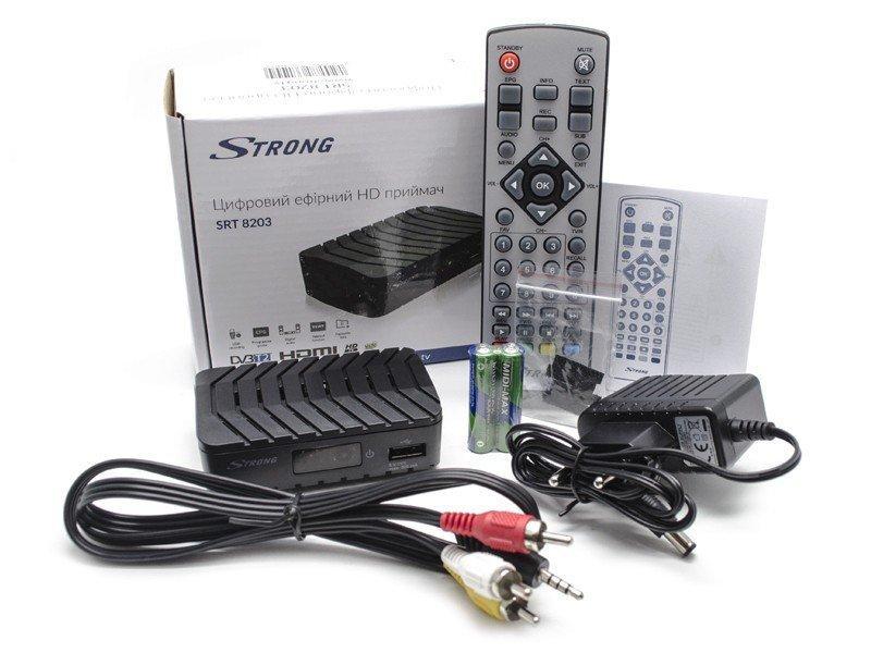 Приставка Strong Т2 Цифровой эфирный приемник HD SRT 8203