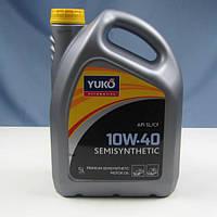 Масло моторне YUKO SEMISYNTHETIC 10W-40 API SL/CF (каністра 5л)