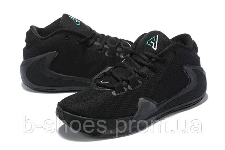 Мужские баскетбольные кроссовки  Nike  Greek Freak 1(Black)