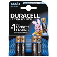 Батарейка DURACELL Ultra Power AAA/LR03 (4шт)