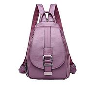 Женский кожаный рюкзак кенгуру в 5 цветах