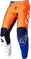 Мото штаны Fox 180 Lovl Pant оранжевый/синий, 30, фото 1