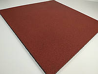 Резиновая плитка для спортзалов 1000х1000x10 мм.Красная.-20% на доставку от МИСТ ЭКПРЕСС., фото 1