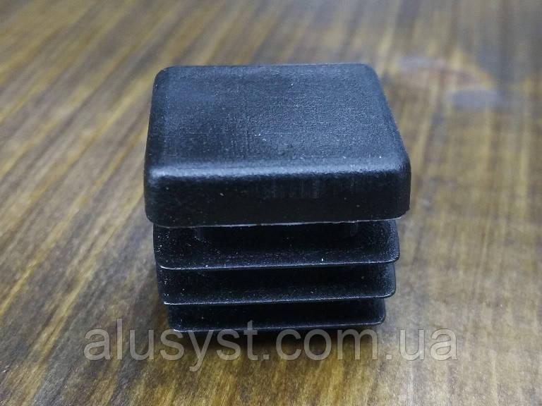 Заглушка 20х20 для квадратной трубы