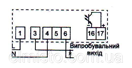 Схема подключения счетчика однофазного НИК 2102 02 М2