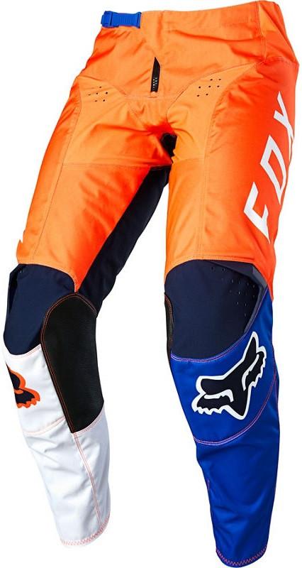 Мото штаны Fox 180 Lovl Pant оранжевый/синий, 34