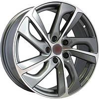 Литые диски Replica BMW (B532) R17 W8 PCD5x120 ET30 DIA72.6 (GMF)