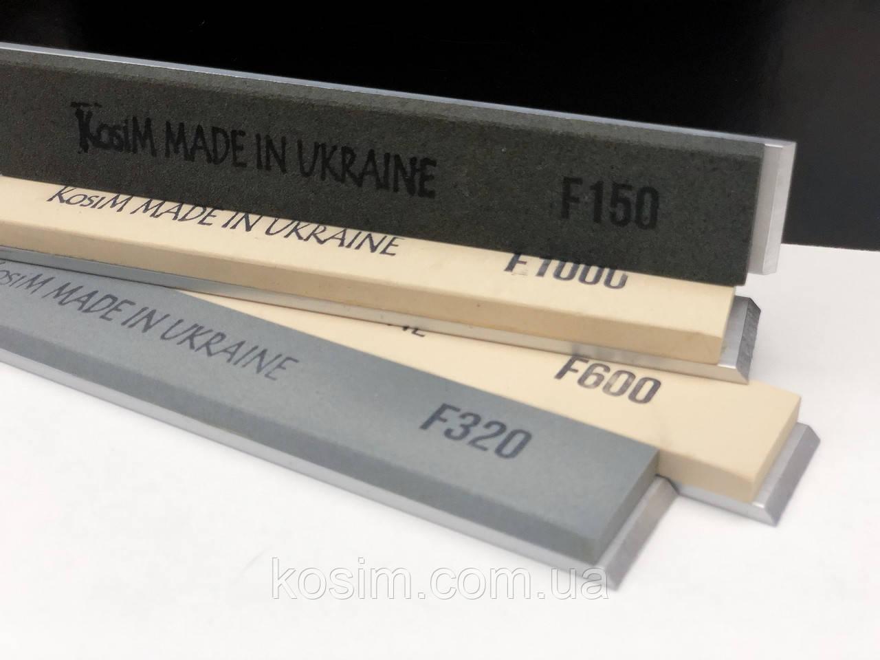 Водные точильные камни бруски 6 мм для точилок типа Apex, Ruixin, Казак. На алюминиевых бланках