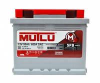 Аккумулятор MUTLU SFB3 6CT-55Ah/600A L+ L1.55.054.B Автомобильный (МУТЛУ) АКБ Турция НДС