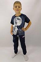 Детские спортивные брюки для мальчика 3-х нитка