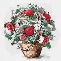 Картина по номерам Букеты Яблочный привкус 40*40 см Идейка, КНО3026, 305194