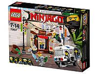 КОНСТРУКТОР LEGO Ninjago 70607 Погоня по городу. Ограбление киоска.