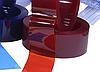Теплосберегающая ПВХ лента СТ 300х2 Германия, красный цвет, гладкая