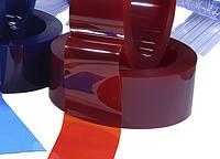 Теплосберегающая ПВХ лента СТ 300х2 Германия, красный цвет, гладкая, фото 1