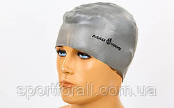 Шапочка для плавания MadWave SOLID  (латекс усиленный) M056501