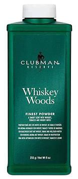 Мужская пудра для тела 255 г Clubman Reserve Whiskey Woods Finest