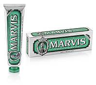Лучшая зубная паста классическая насыщенная мята 85 мл, Marvis classic strong mint
