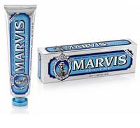 Зубная паста отбеливает морская мята 85 мл Marvis aquatic mint