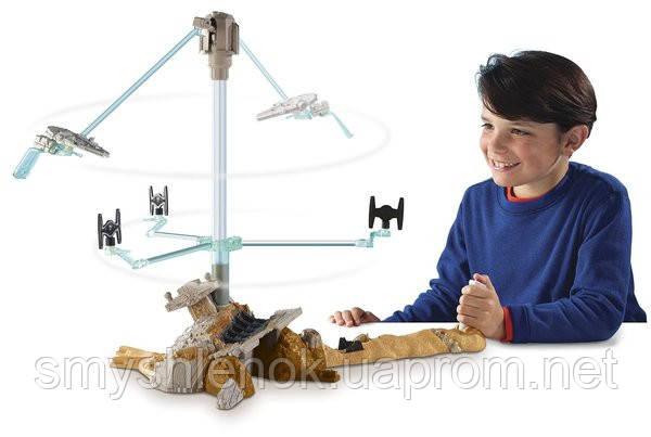 Игровой набор Хот Вилс «Побег с Джакку» серии Звездные войны, Hot Wheels Star Wars Escape from Jakku Play Set