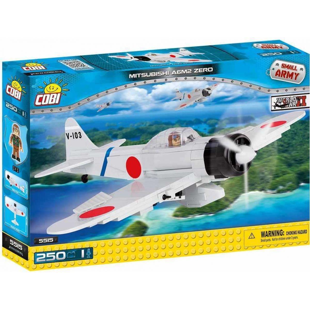 Конструктор Cobi Вторая Мировая Война Самолет Мицубиси А6М2 Зеро (COBI-5515) (5902251055158)