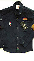 Рубашка вельветовая для мальчиков 116-140