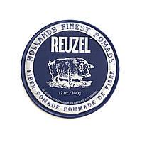 Матовая помада для укладки волос Reuzel 340 г, Fiber dark blue
