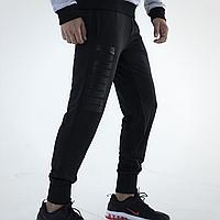 Штаны спортивные мужские теплые Puma черные
