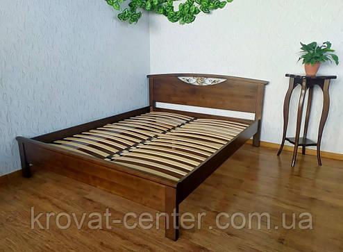 """Спальный гарнитур из натурального дерева от производителя """"Фантазия"""" (кровать с тумбочками) орех, фото 2"""
