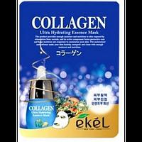 Увлажняющая тканевая маска Ekel с Коллагеном