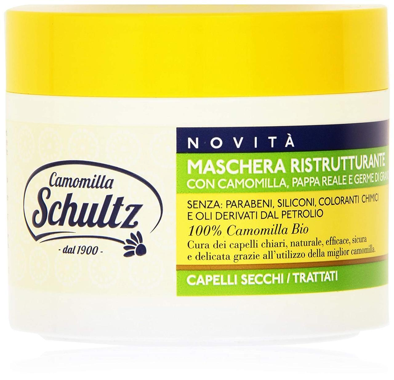 Маска для мужских волос восстанавливающая 300 мл, Schultz Chamomile Intensive Restoration hair Mask