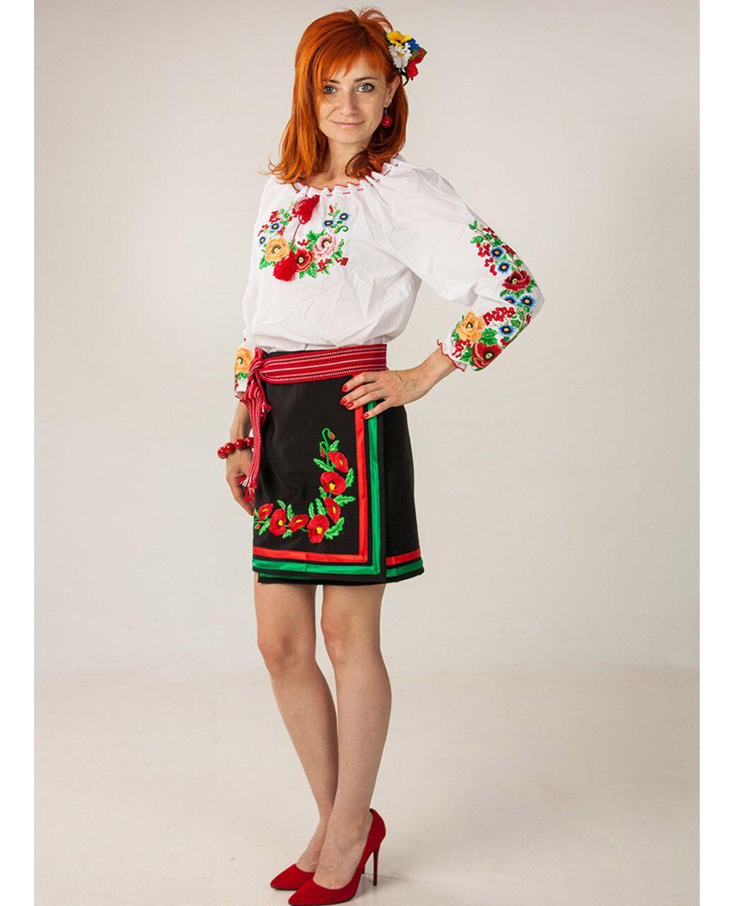 "Женская вышитая блуза ""Диана"", 46"