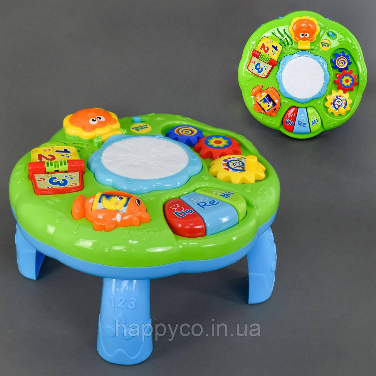 Детский игровой музыкальный центр, свет, звук, интерактивная игрушка