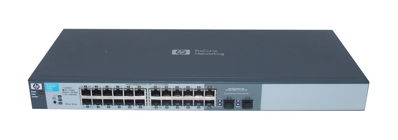 Комутатор HP ProCurve E2520 на 24 порти PoE J9138A