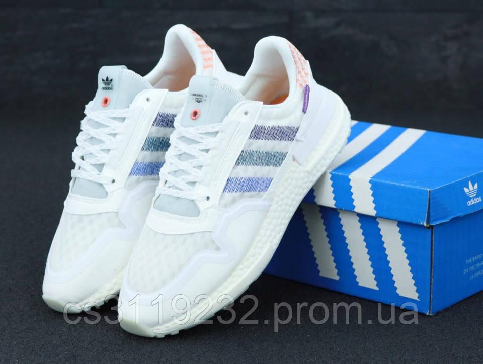 Женские кроссовки Adidas Common Wealth ZX500  (белые)