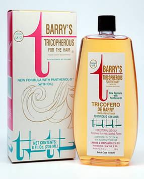 Тоник укрепляющий от выпадения волос  236 мл , Tricopherous Hair tonic Barry's With Oil