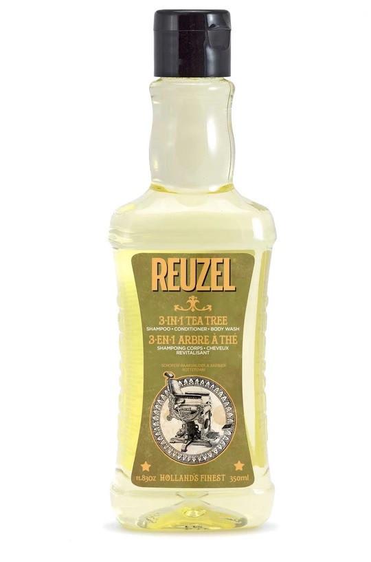 Увлажняющий мужской шампунь Reuzel 3 в 1, 350 мл