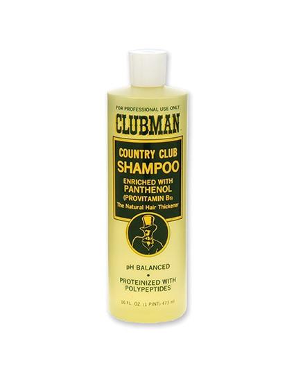 Шампунь для волос восстанавливающий с пантенолом Clubman country club 473 мл