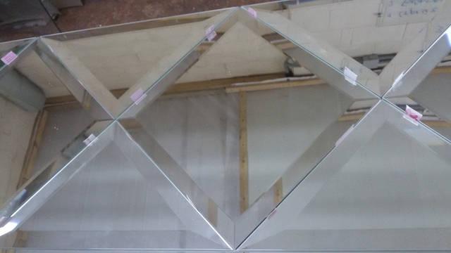 Зеркальная плитка для панно