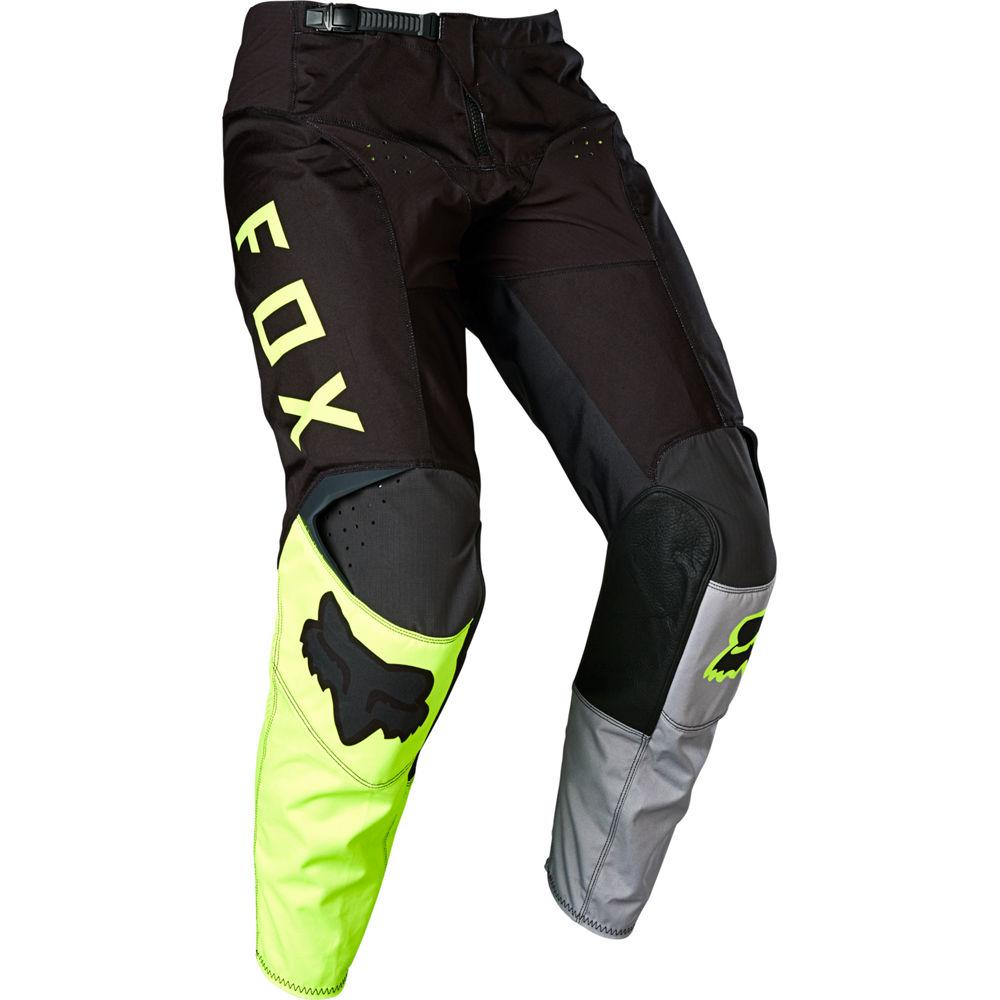 Мото штаны FOX 180 LOVL PANT [BLACK YELLOW], 28