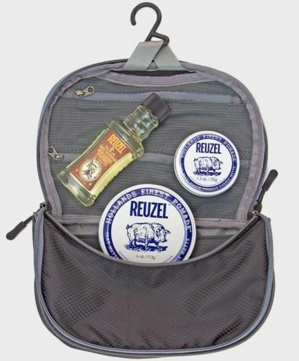 Эксклюзивный профессиональный набор по уходу за волосами мужской Reuzel Sada Can Fly Dopp сумка CLAY МАТОВЫЙ