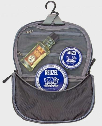 Набор на подарок по уходу за волосами для мужчины Reuzel Sada Can Fly Dopp Bag FIBER