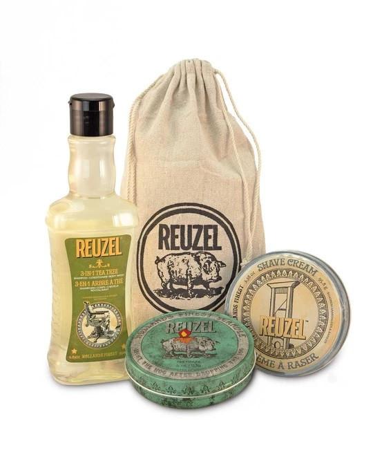 Набор средств по уходу за бородой Reuzel Sada Sh * t, Shower & Shave