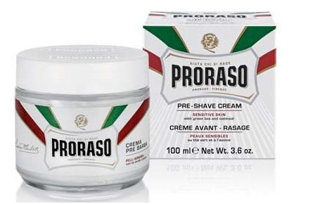 Крем перед бритьем Proraso 100 мл preshave cream sensitiv