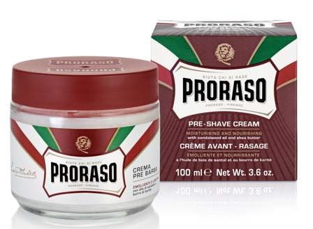 Мужской крем перед бритьем Proraso 100 мл,preshave cream nourish