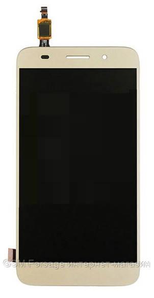 Дисплей Huawei Y3 2017 (CRO-U00 / L02 / L22) Dual SIM complete Gold