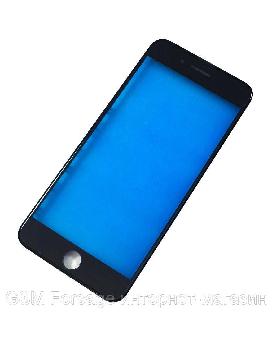 "Стекло дисплея (для переклейки) iPhone 8 Plus (5.5"") Black complete with frame"